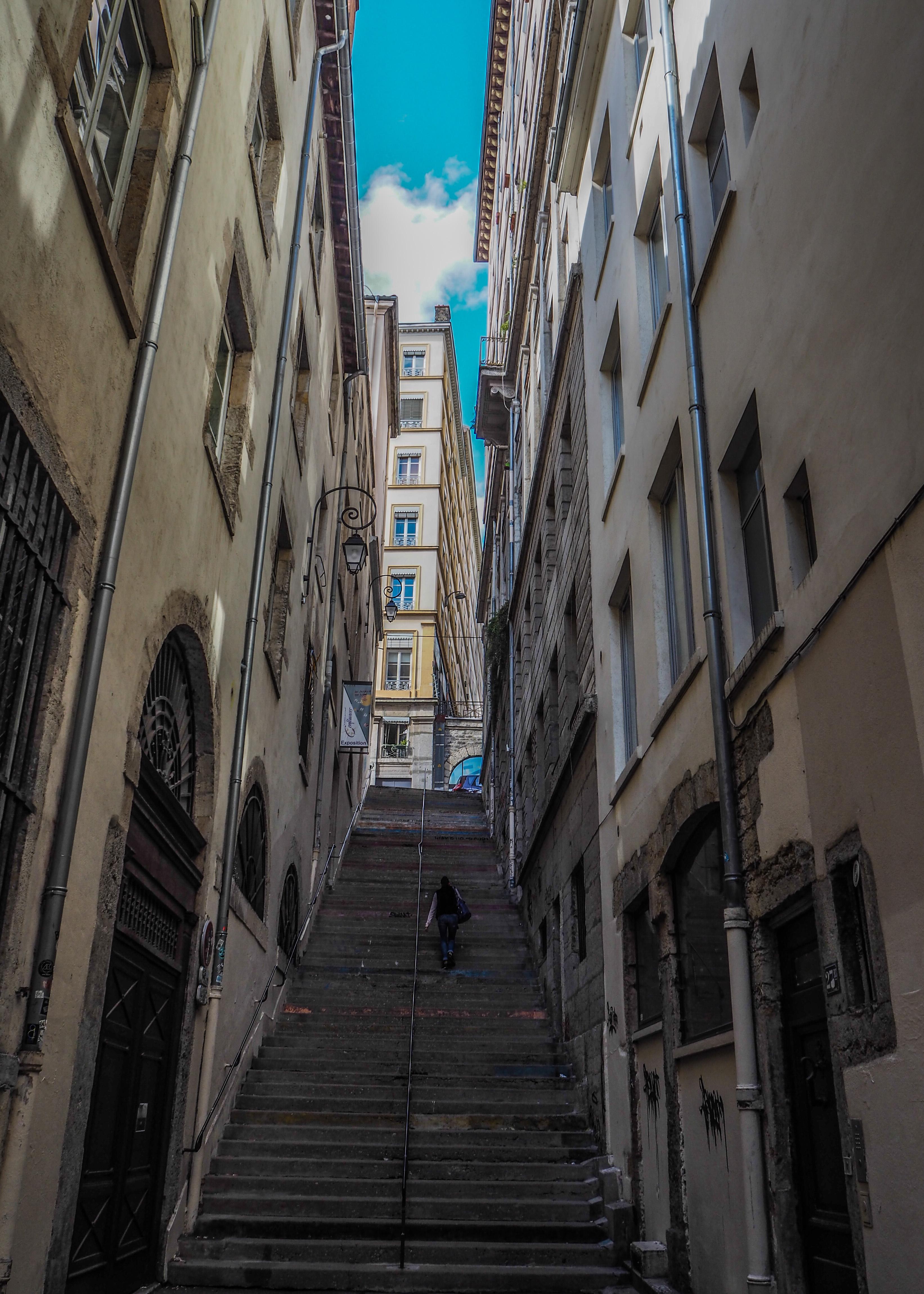 Balade sur les Pentes de la Croix-Rousse à Lyon
