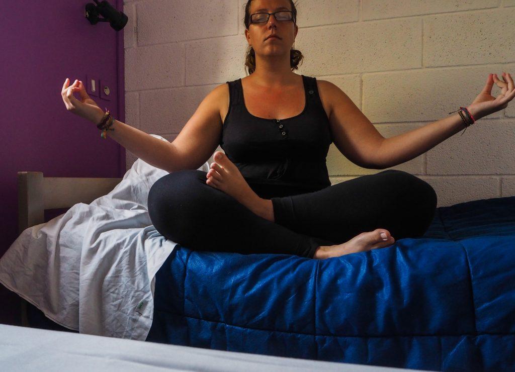 Yoga à l'auberge de jeunesse