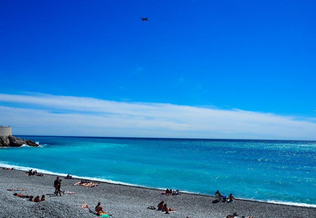La Côte d'Azur mérite bien son nom à Nice