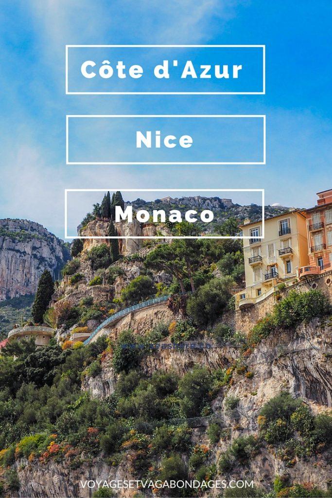 Visiter la Côte d'Azur, Nice et Monaco à petit prix
