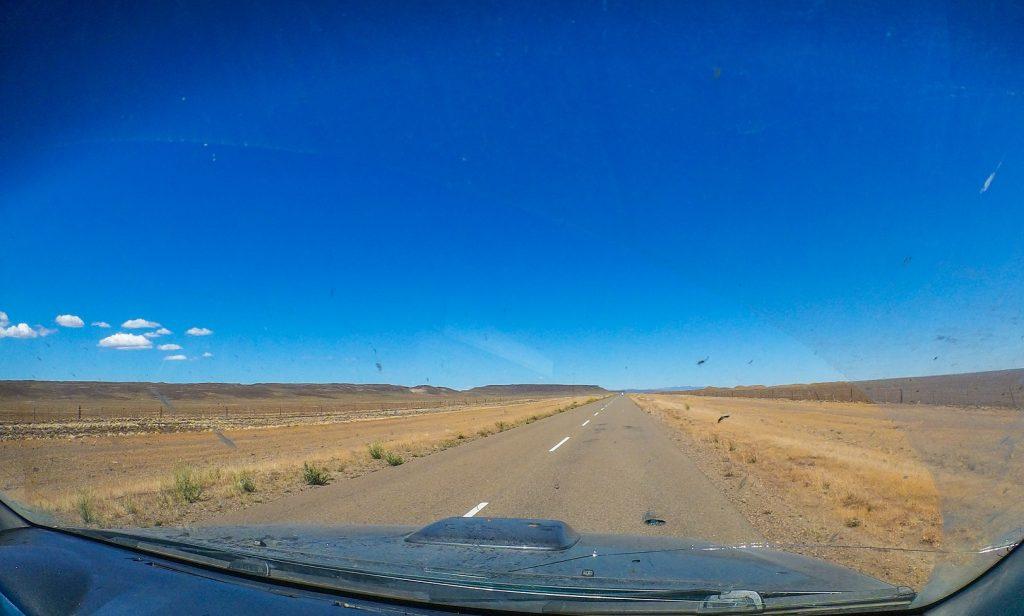 Sur la route en Argentine