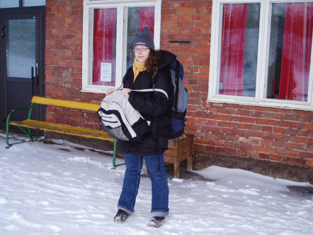 Une backpackeuse est née: voyage en Laponie Suédoise