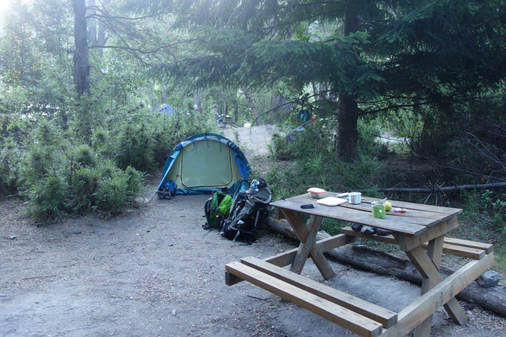 Camping en Patagonie Argentine