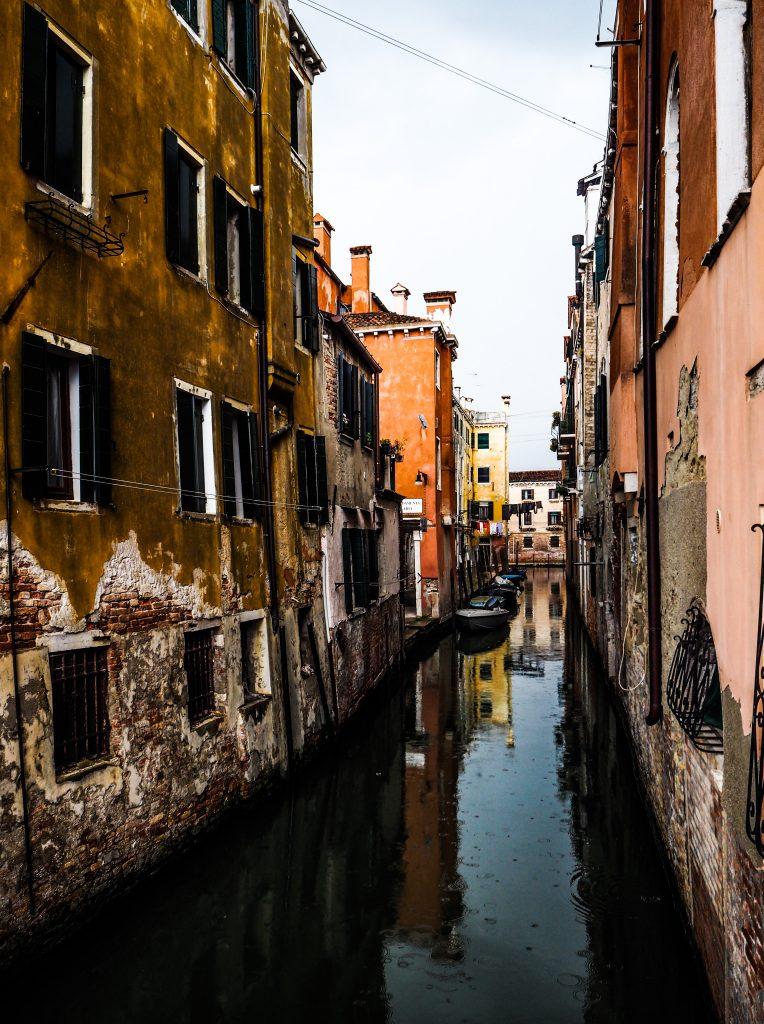 Venise sous la pluie