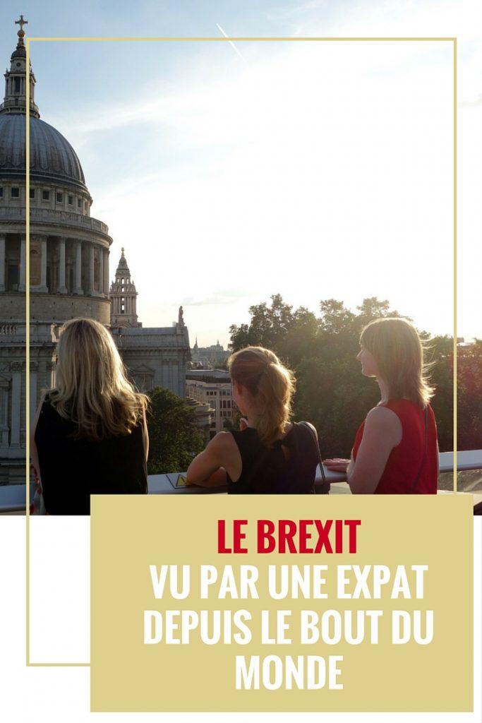 Brexit vu par une expat depuis le bout du monde