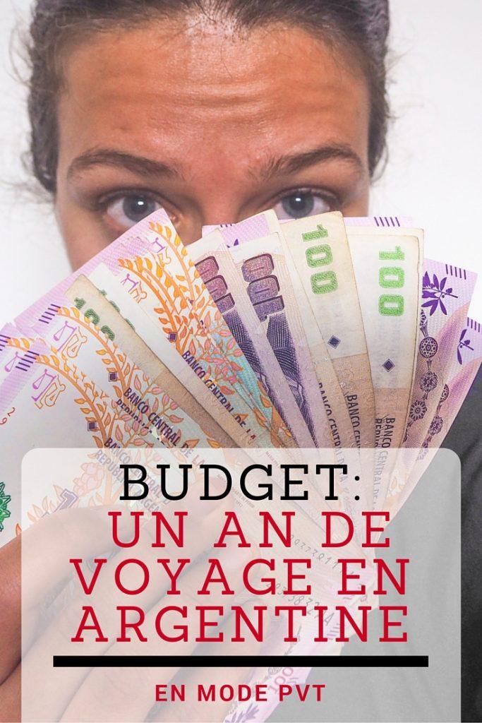 Quel budget prévoir pour un an de voyage en PVT Argentine? Je vous explique et détaille tout, sans tabou!