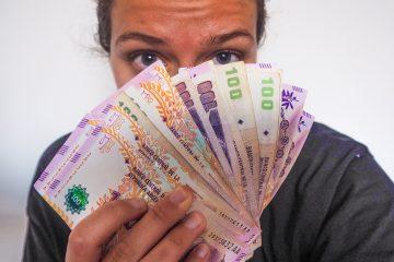 Budget pour un PVT en ARgentine, pesos argentins