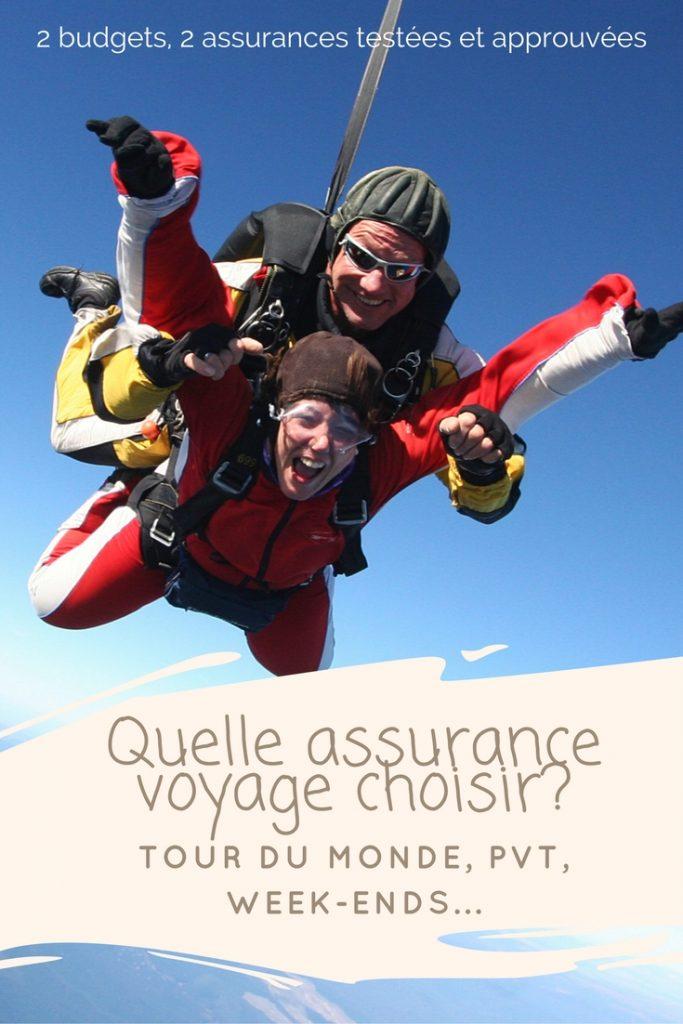 Quelle assurance voyage choisir pour un tour du monde?