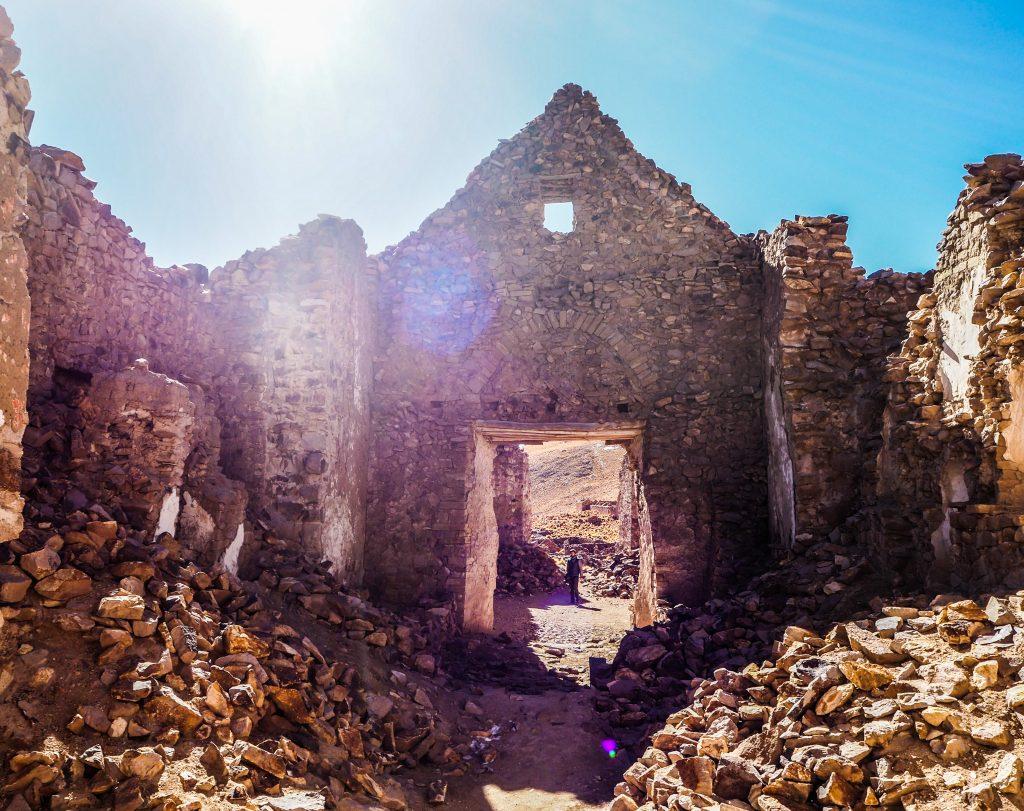 Village abandonné fantôme