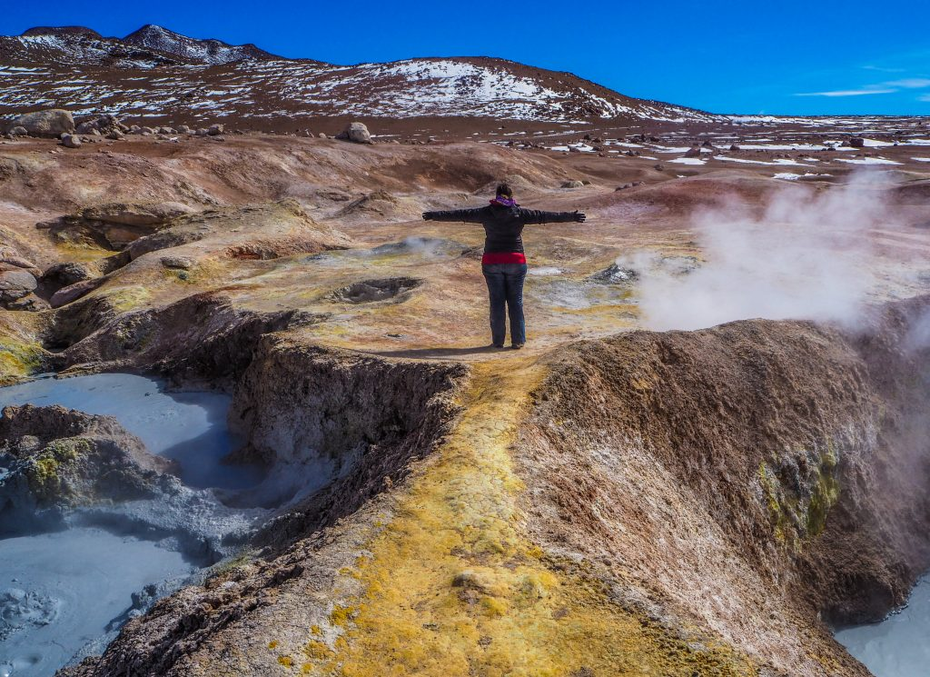 Visiter le Sud Lipez: les geysers