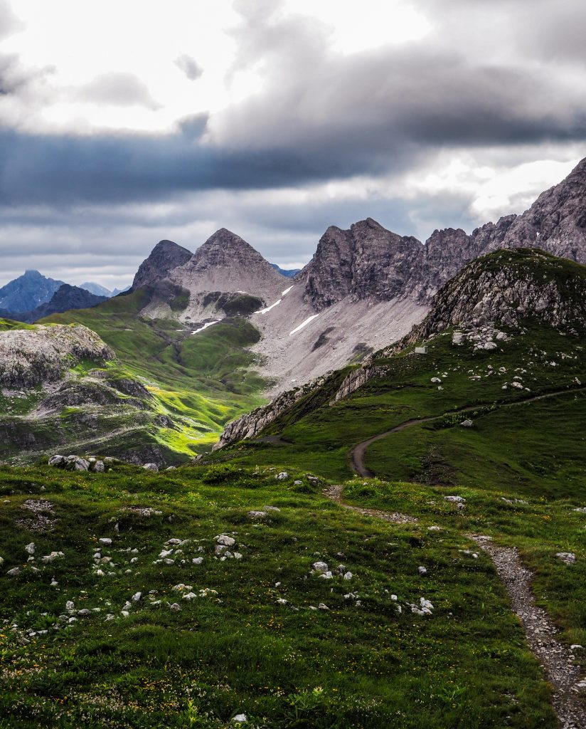 Randonner en Autriche dans le Vorarlberg