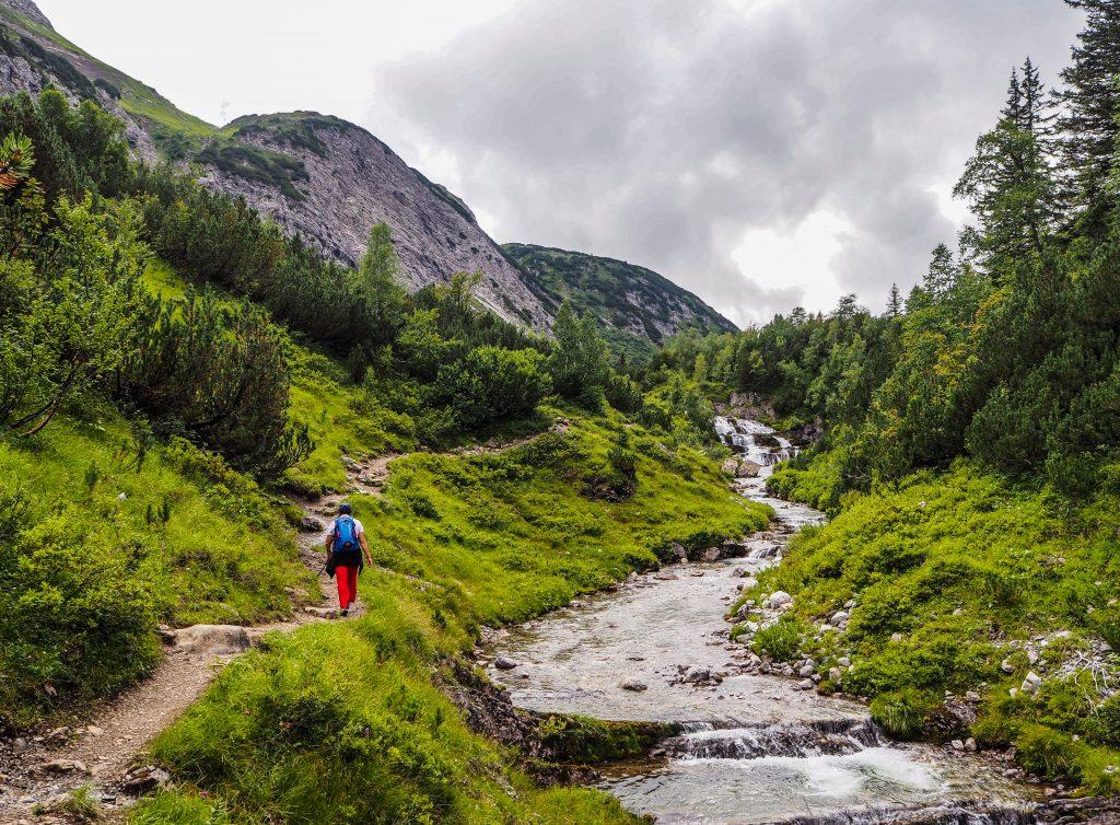 Randonner en Autriche: Lechweg