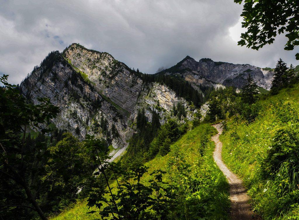 Randonnée en Autriche: le chemin des bouquetins