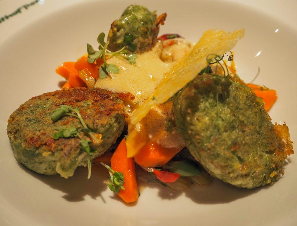 Nourriture traditionnelle au Gasthof Post à Dalaas