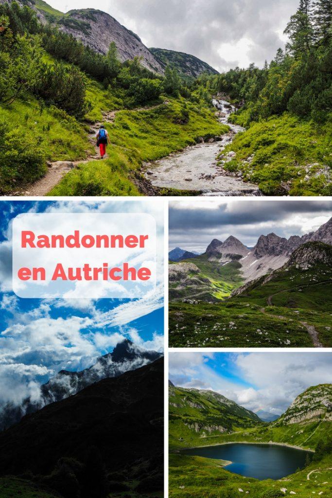 Randonner en Autriche: à la découverte du Vorarlberg, récit, photos et conseils pratiques de Voyages et Vagabondages