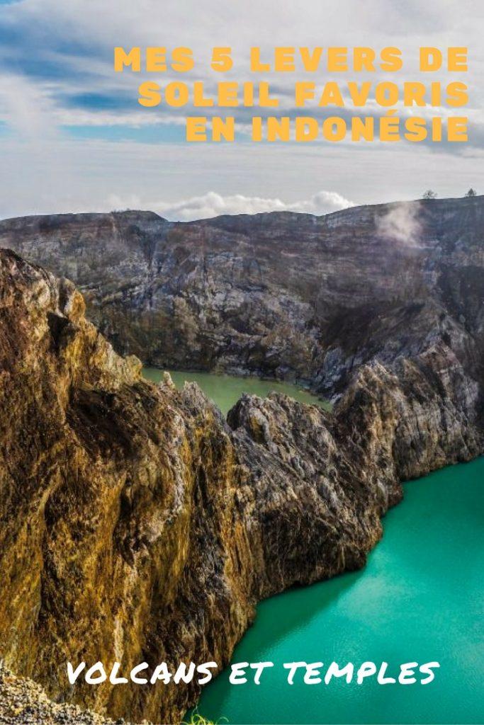 Mes 5 levers de soleil favoris en Indonésie sur volcans, temples et en pleine mer: Java, flores et Komodo au programme