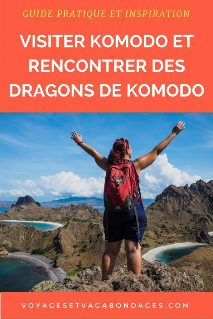 Guide pratique et inspiration pour visiter l'île de Komodo, voir les dragons de Komodo et voyager dans ce lieu paradisiaque: conseils pratiques, récit, photos et vidéos