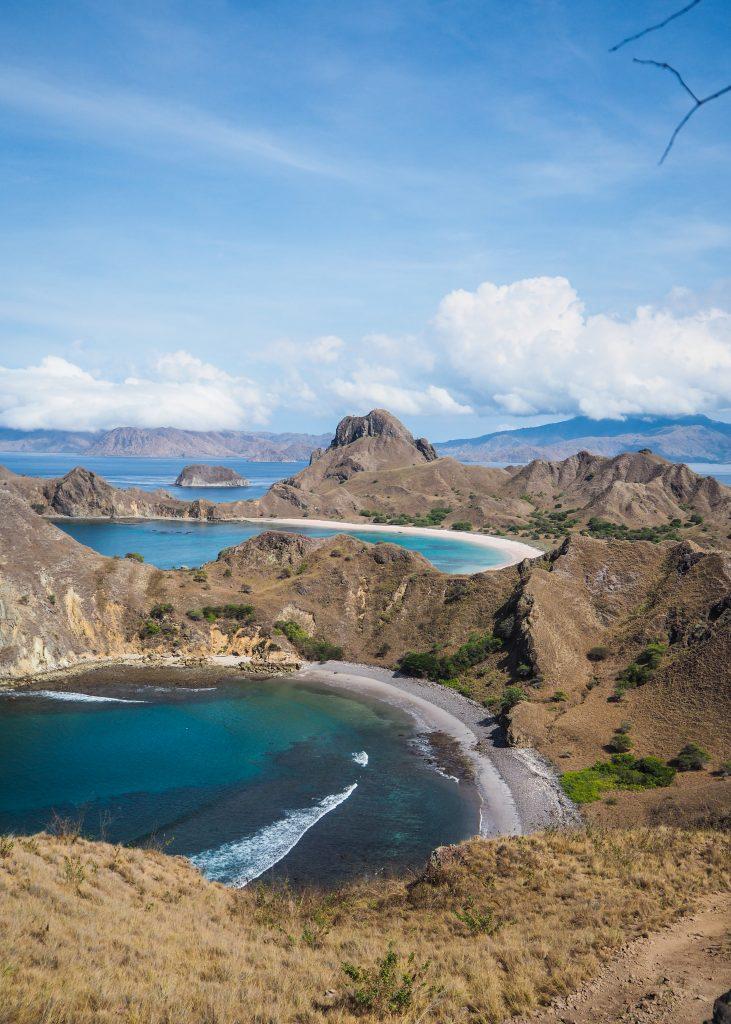 L'île de Padar à Komodo
