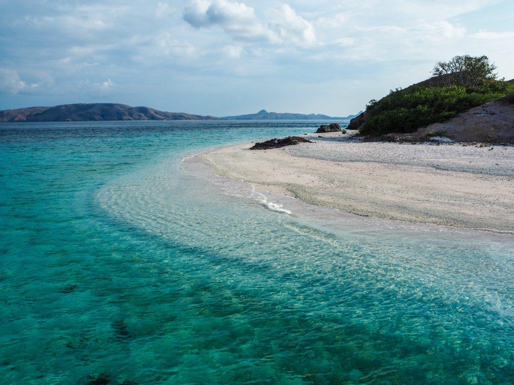 L'île déserte et secrète de Mawan, à Komodo