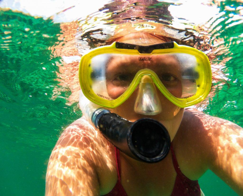 Snorkeling sur Mawan