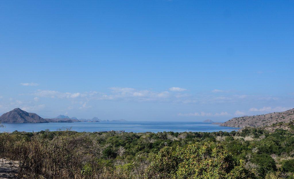 Point de vue sur l'île de Komodo