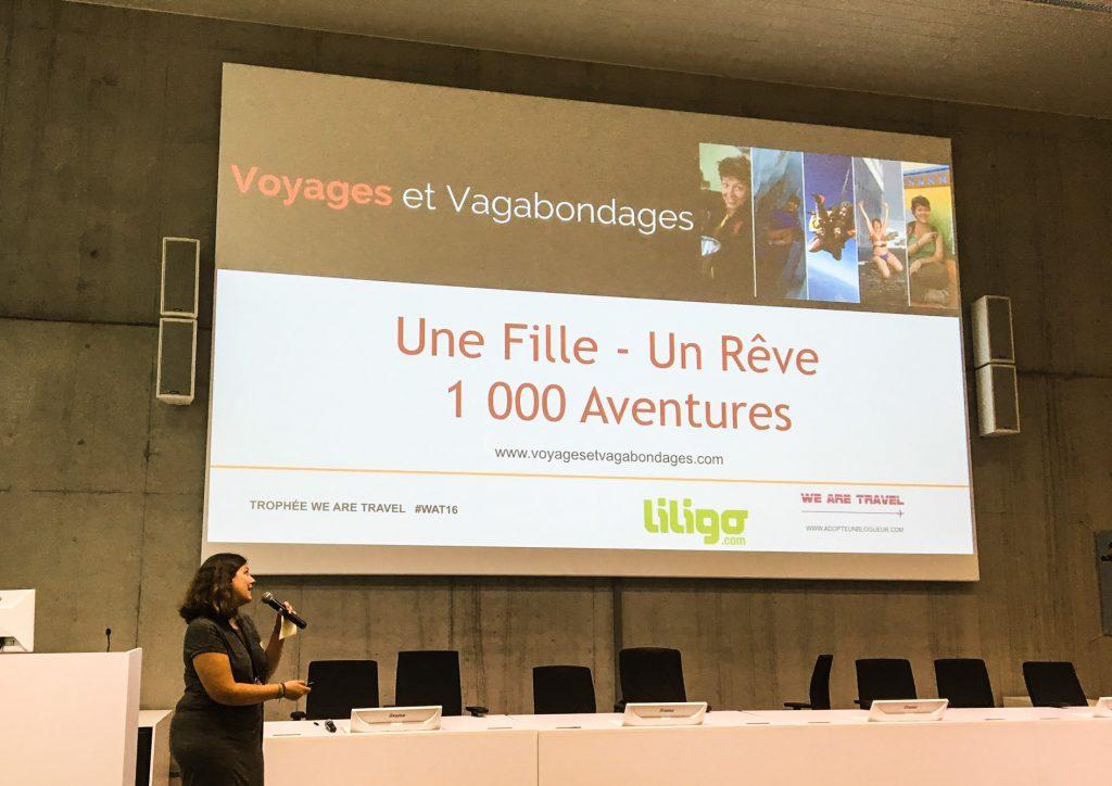 2e prix du Meilleur Blog de Voyage We Are Travel à Bruxelles