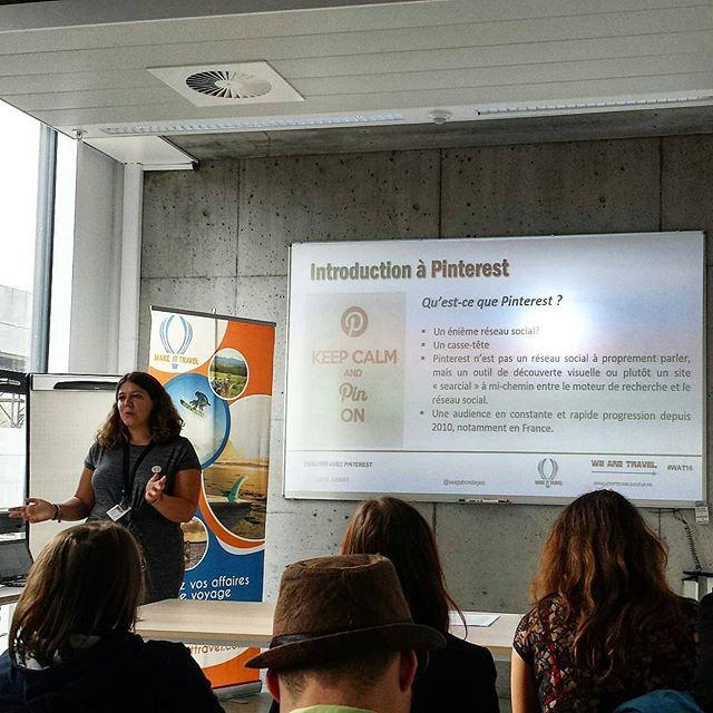 Conférence sur Pinterest au Salon des Blogueurs de voyage à Bruxelles
