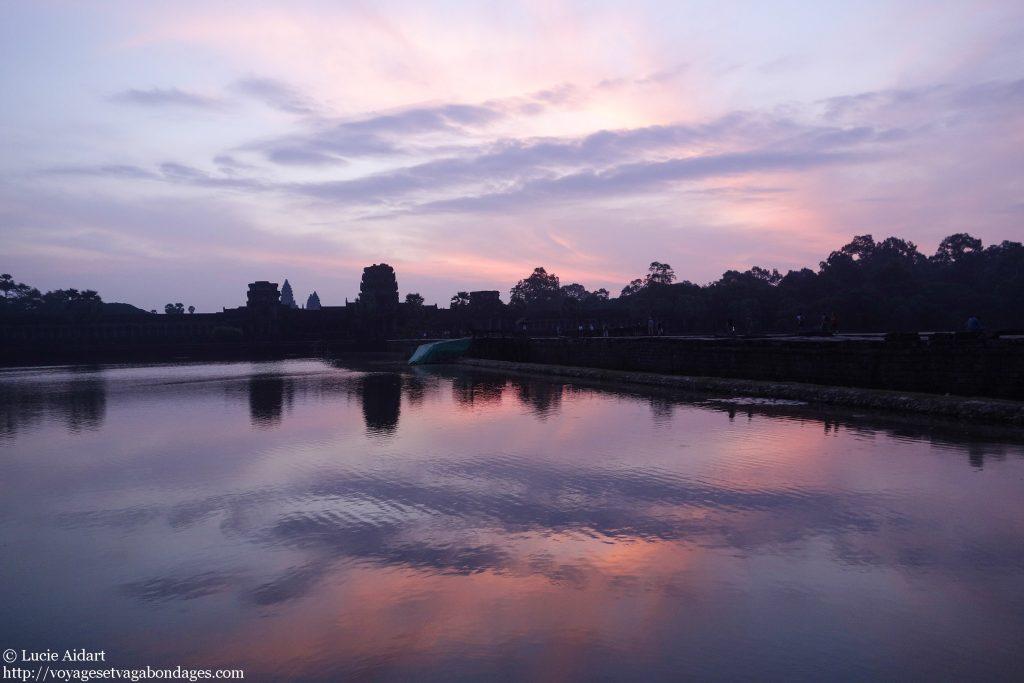 Lever du soleil sur Angkor Wat