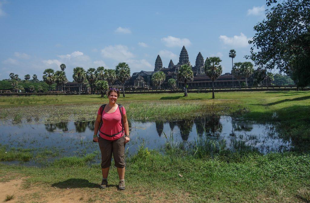 Visite de ANgkor Wat en solo, sans la foule et les touristes