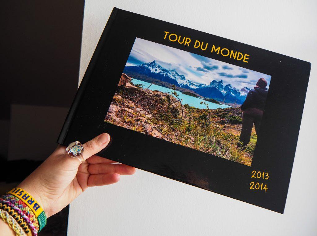 Offrez un album photo de voyage, un livre de photos pour Noël ou toute autre occasion
