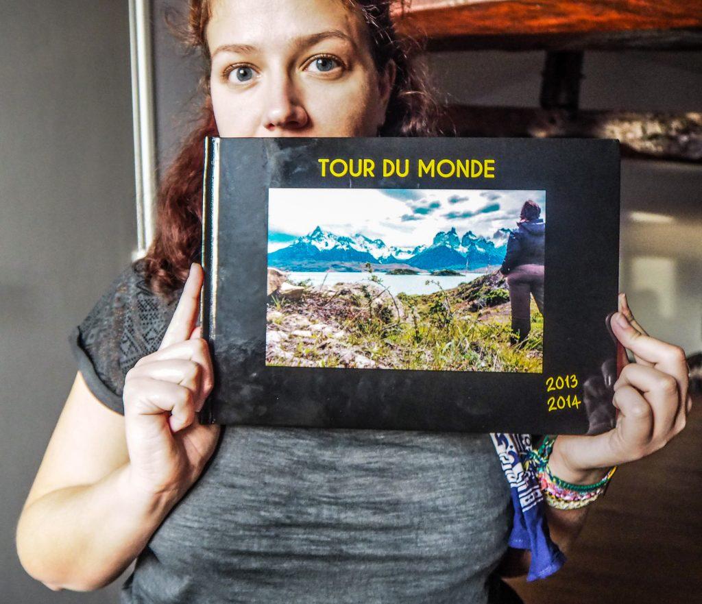 Offrez-moi en cadeau un album photo de voyage, je serai heureuse!