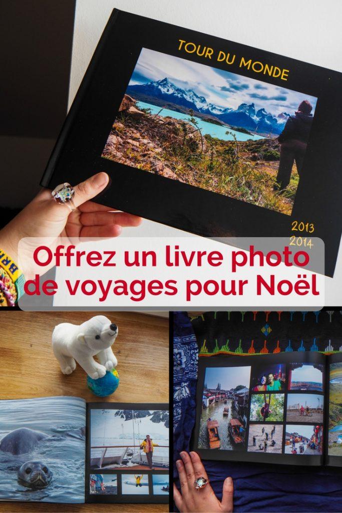 Offrez un album photo de voyage en cadeau de Noël pour les voyageurs