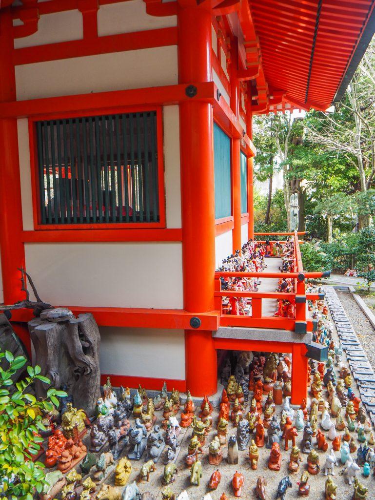Le temple de Awashima-Jinja