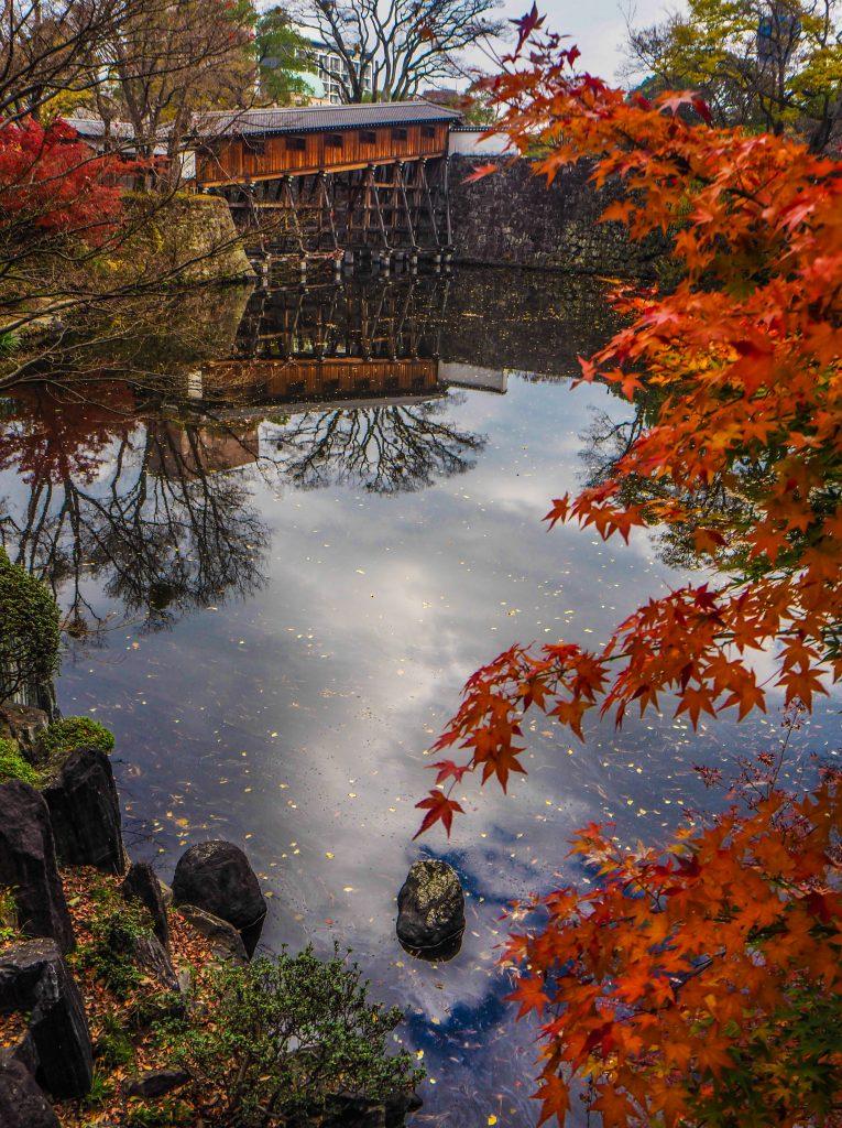 Jardin Momijidani du château de Wakayama