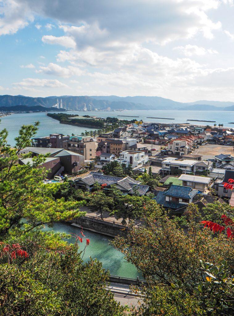 Wakaura et Saikazaki dans la ville de Wakyama
