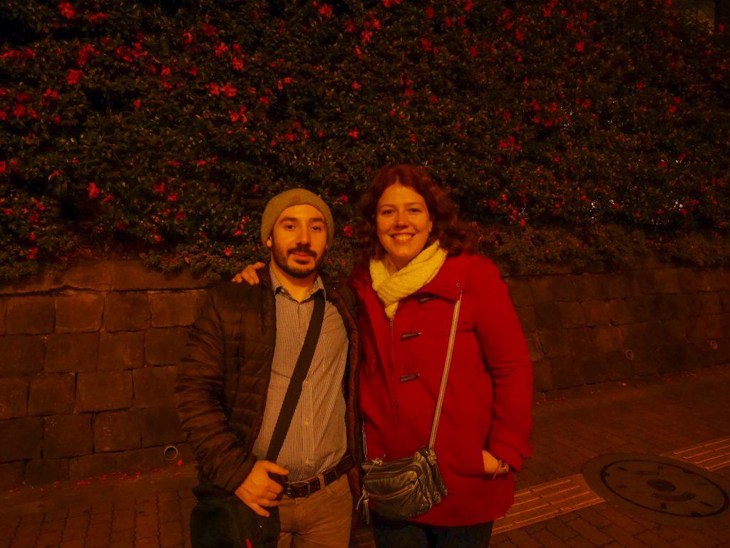 Deux Français perdus dans la nuit Tokyoïte