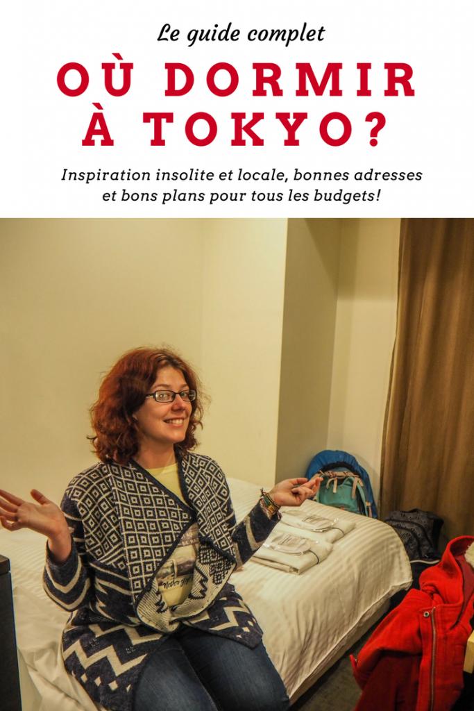 Où dormir à Tokyo, le guide pratique complet: inspiration insolite et locale, bonnes adresses, bons plans et même des options pour se loger gratuitement à Tokyo et au Japon