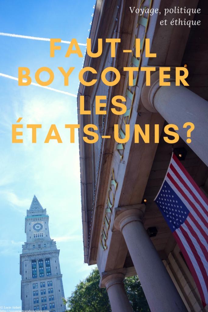 Voyage, politique et éthique: faut-il boycotter les Etats-Unis sous Trump?