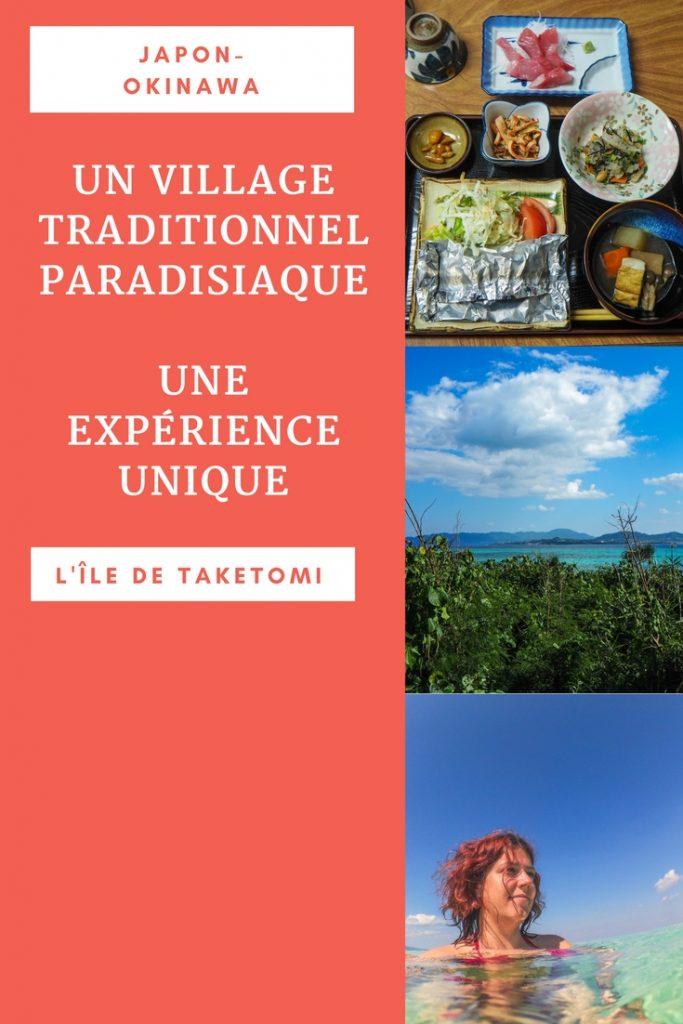 Découvrez un village traditionnel et paradisiaque au Japon: l'île de Taketomi à Okinawa