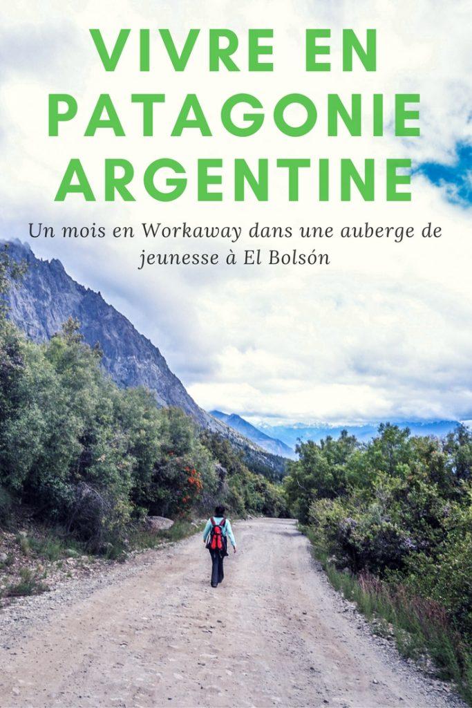 Vivre en Patagonie Argentine: travailler dans une auberge de jeunesse à El Bolson en volontariat workaway