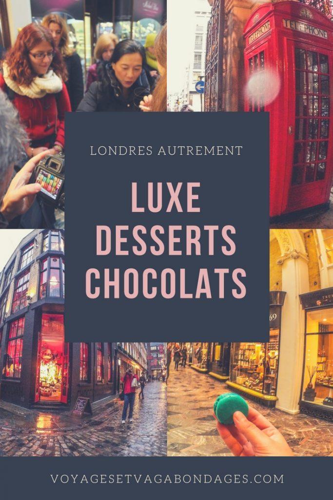 Faire une visite guidée à Londres: luxe, desserts et chocolats à Soho et Mayfair pour une visite savoureuse et croustillante à Soho et Mayfair avec Urban Adventures