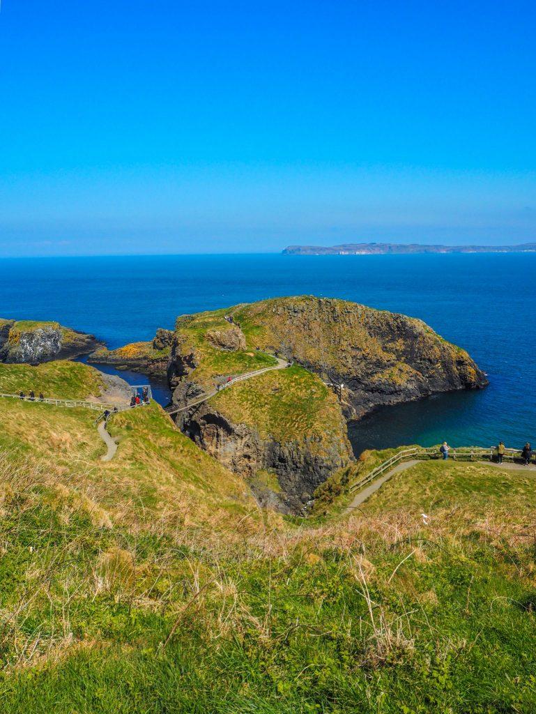 La Causeway Coastal Route en Irlande du Nord: un des meilleurs road-trips au monde: Carrick-a-rede