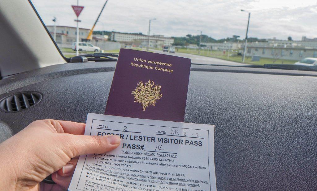 Visiter une base américaine à Okinawa
