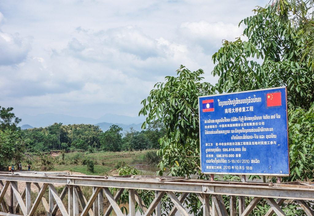 Frontière entre le Laos et la Chine - Passage de la frontière terrestre de la Chine au Laos, entre Xishuangbanna et Luang Namtha - Récit et retour d'expérience. Tour du monde - Bienvenue au Laos
