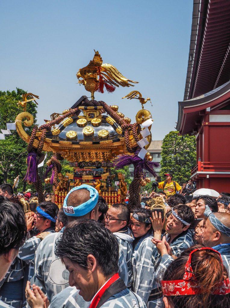 Sanja Matsuri à Tokyo - Voyages et Vagabondages au fil des mois - Mai 2017