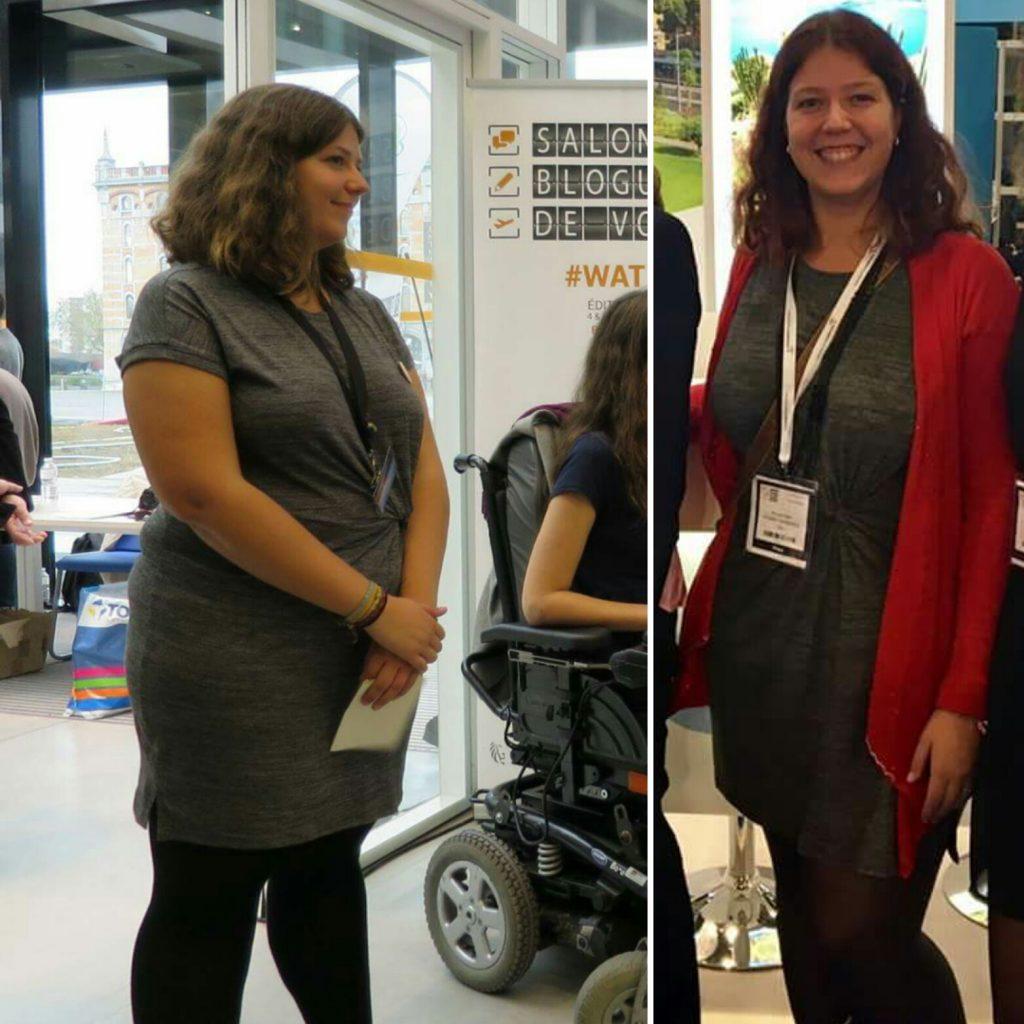 Avant-après, j'ai perdu 15 kilos en voyage. Gardez la forme en voyage: santé, sport, forme et fitness pour les voyageurs et nomade