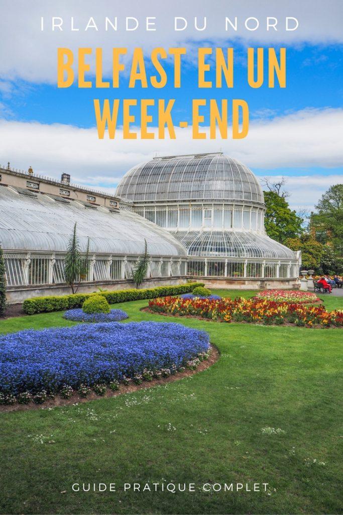 Un week-end à Belfast: conseils pratiques et bonnes adresses pour un week-end réussi de quelques jours en Irlande du Nord