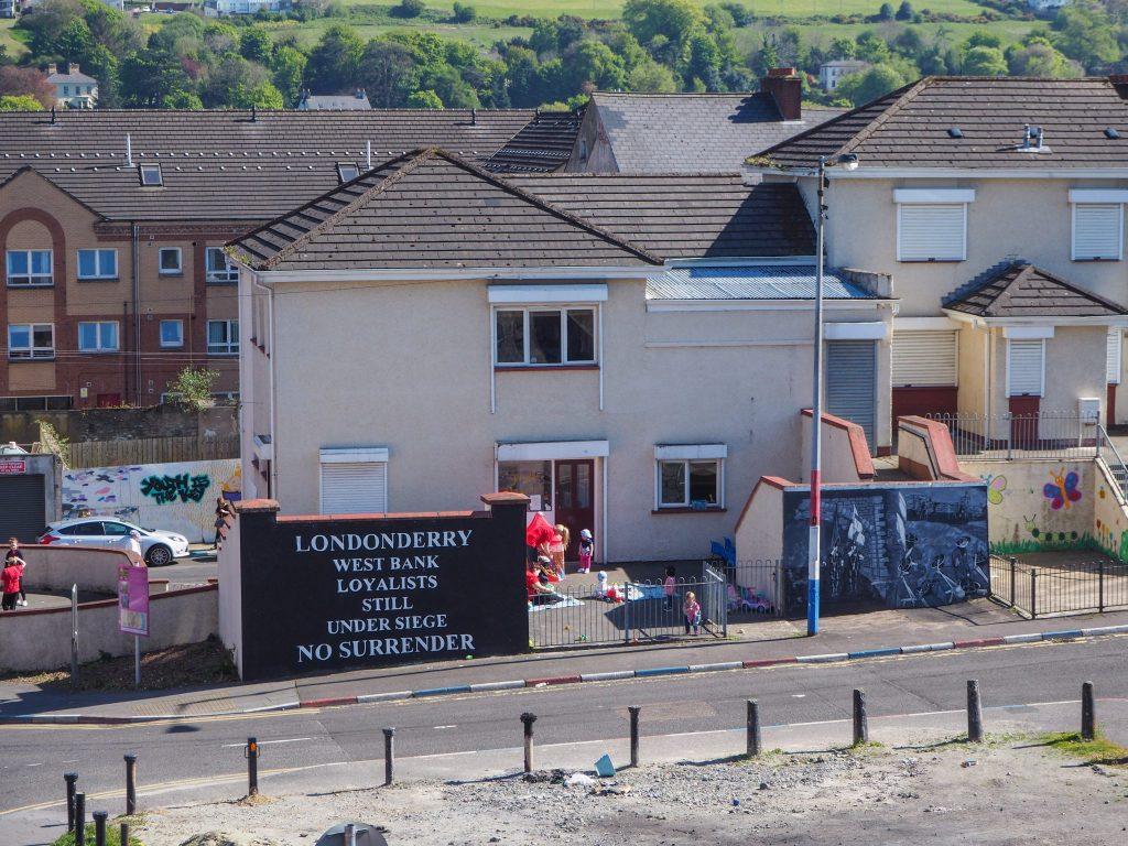 Quartier protestant The Fountain à Derry - Que faire et que visiter à Derry / Londonderry en Irlande du Nord? Guide pratique complet et conseils