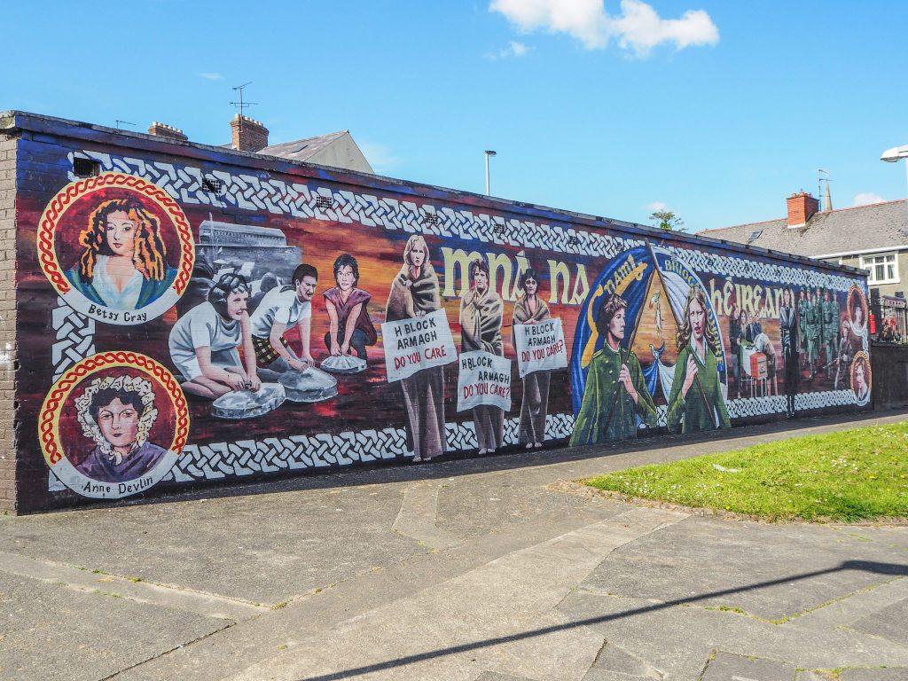 Les murales du Bogside - Free Derry - Que faire et que visiter à Derry / Londonderry en Irlande du Nord? Guide pratique complet et conseils