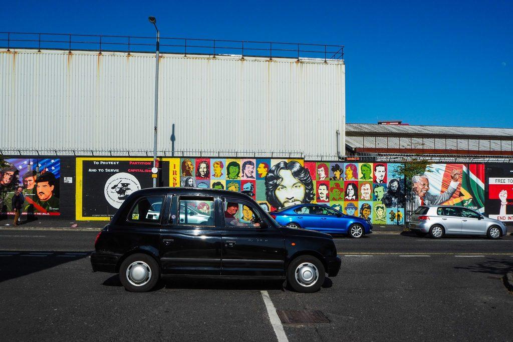 Black Cab Taxi Tour à Belfast- Un week-end à Belfast: conseils pratiques et bonnes adresses pour un week-end réussi de quelques jours en Irlande du Nord